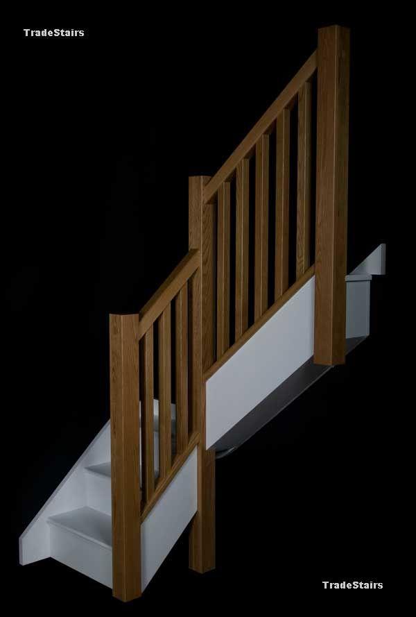 Best The Newark Staircase Oak Stairs Oak Handrail Stair Parts 400 x 300