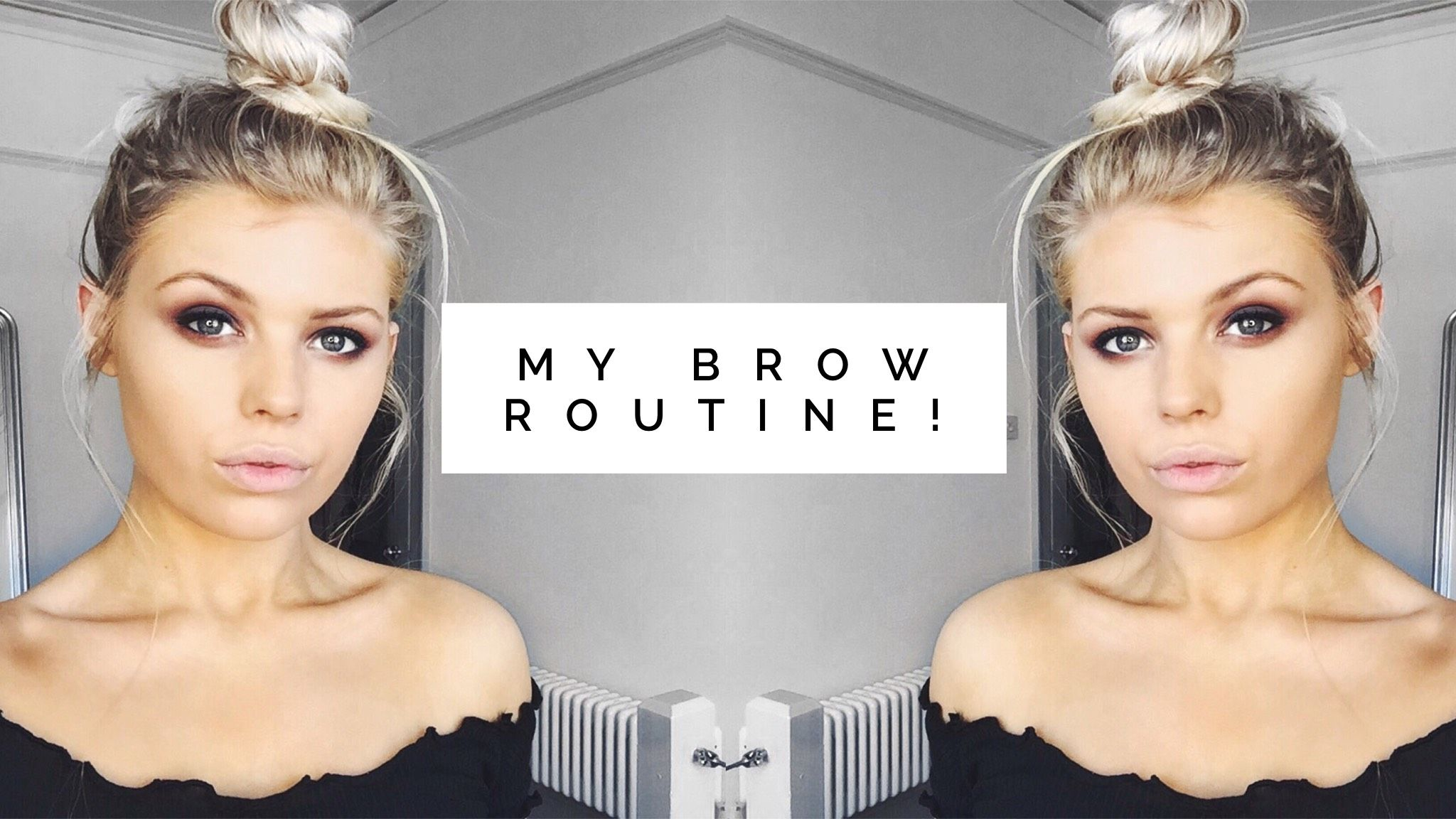 How To Dye Eyebrows At Home My Brow Tint Routine Ruby Radzik As A Blonde With Fair Skin Brow Dye Is A Must Unless I Want Dye Eyebrows Brow Tinting Brows