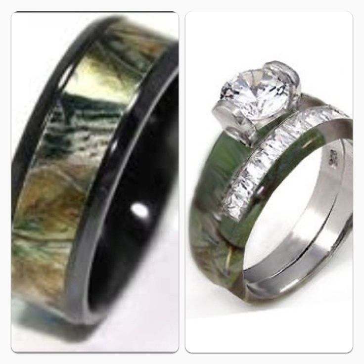 wedding rings sets his and hers tutwedding - Camo Wedding Ring Sets His And Hers