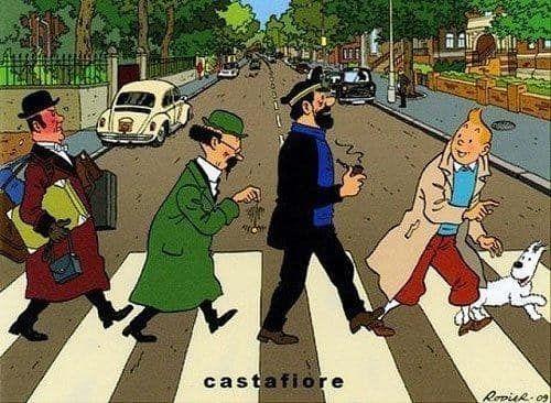 South Park Abbey Road Tintin Comics