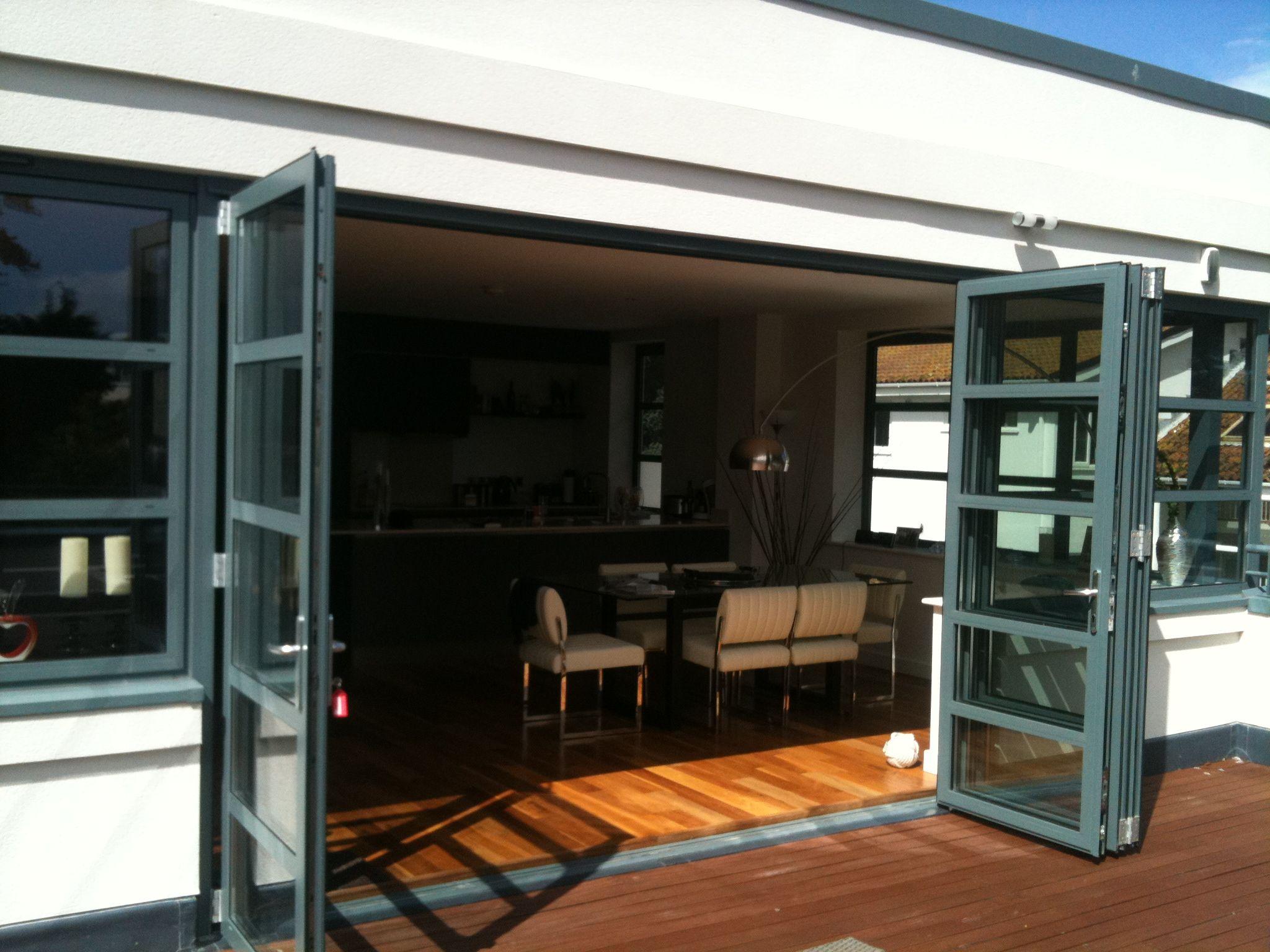 Bi Folding Doors Exterior - Home Design