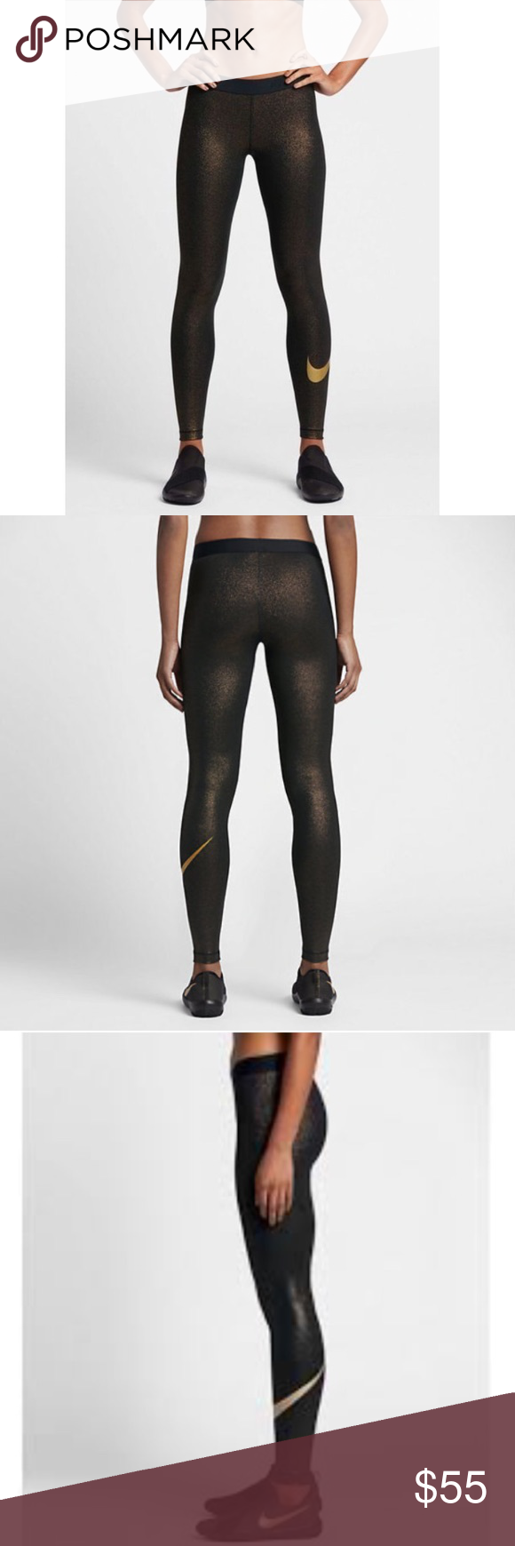 51462d457bb2a Nike Pro Sparkle Training Tights 881778-010 NWT, never been worn. The Nike