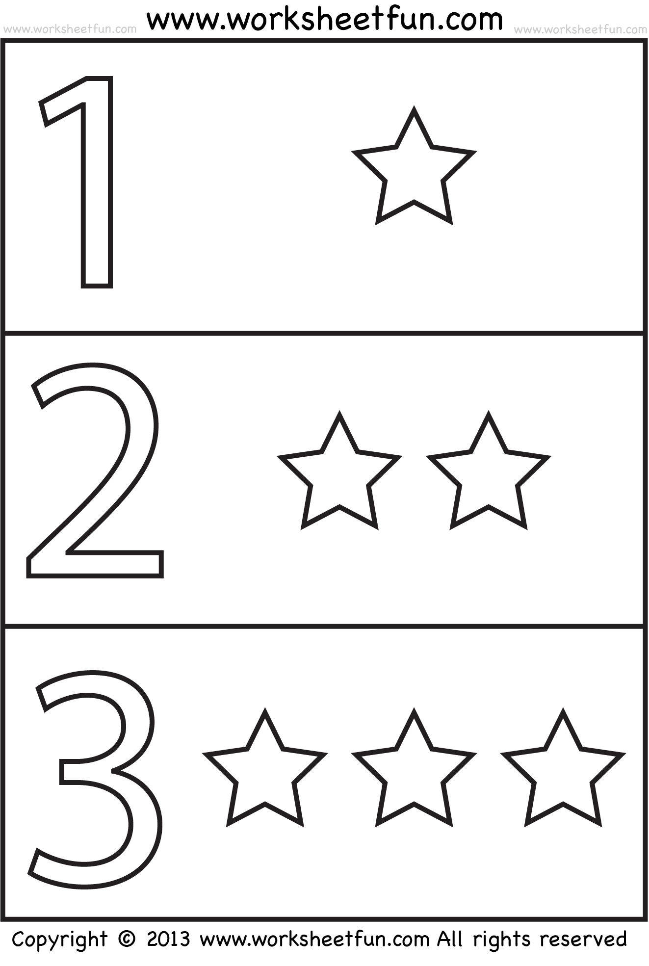 Number Coloring And Shapes
