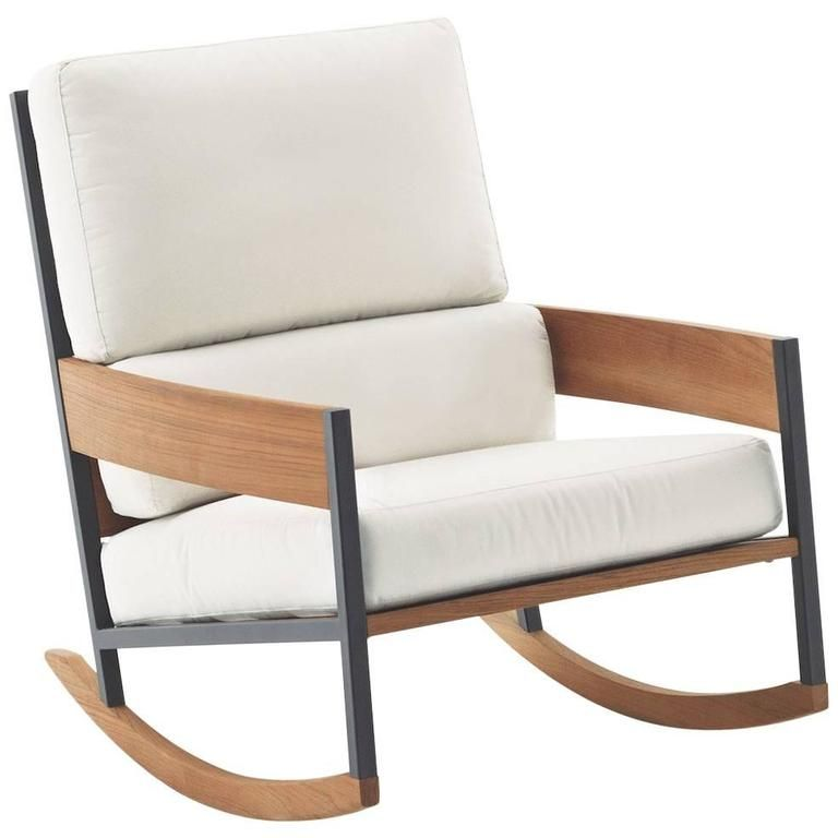 Roda Nap Rocking Chair For Indoor Or Outdoor Use From A Unique Collection Modern Outdoor Lounge Chair Lounge Chair Outdoor Contemporary Outdoor Lounge Chairs