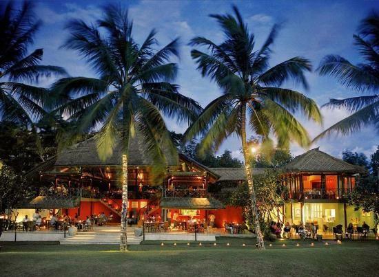 la lucciola romantic restaurant bali hotels