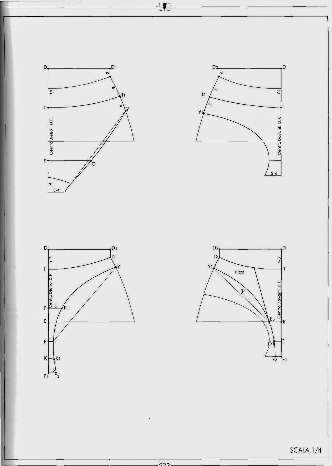 modelist kitapları: 4 IL MODELLISMO | Käsityöt | Pinterest