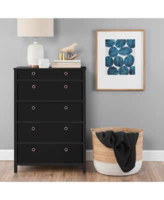 Ez Home Solutions Foldable Furniture 5 Drawer Tall Dresser Reviews Furniture Macy S Foldable Furniture Tall Dresser Tall Dresser Decor