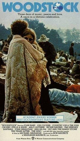 Poster For The Original Documentary On The First Woodstock