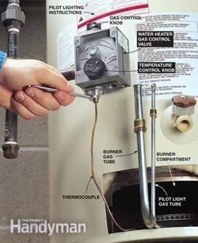 No Hot Water Restore It Yourself Hot Water Plumbing Problems Restoration