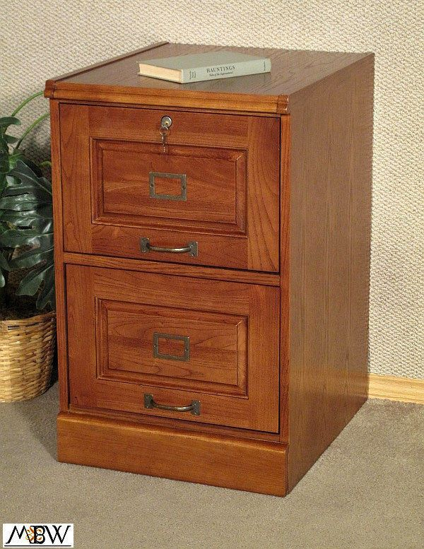 Mission Style Oak Two Drawer File Filing Cabinet C5317N 30.25H 18.75W 22. |  EBay!