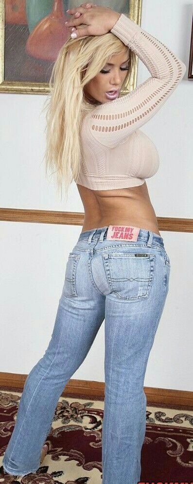HOTTIE | HOT Blondes in 2019 | Sexy jeans, Sexy, Beautiful ...