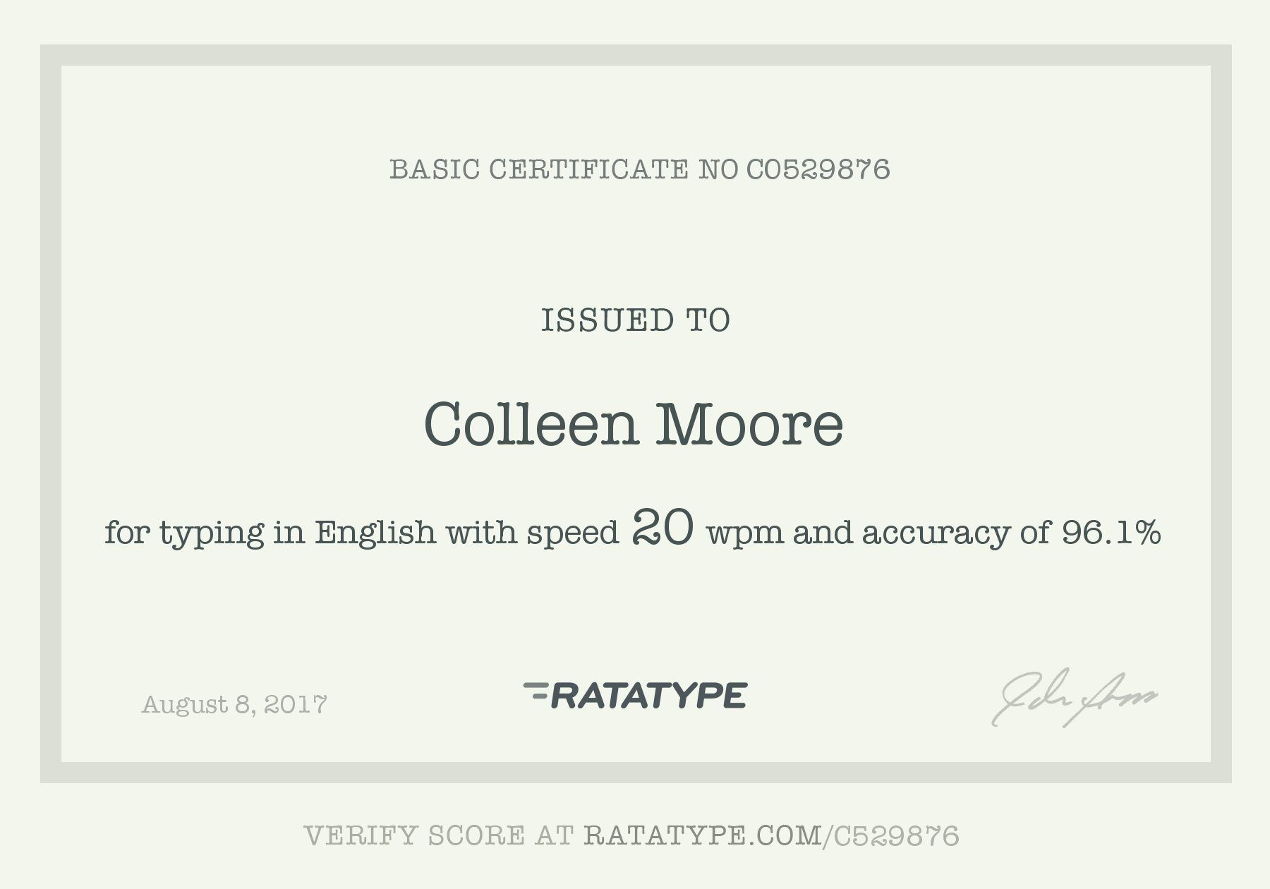 Hooray Ratatype Certificates Pinterest Certificate And Test