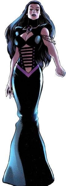 Umar is Clea's mother and Dormammu's sister who briefly was the Queen of the Dark Dimension.