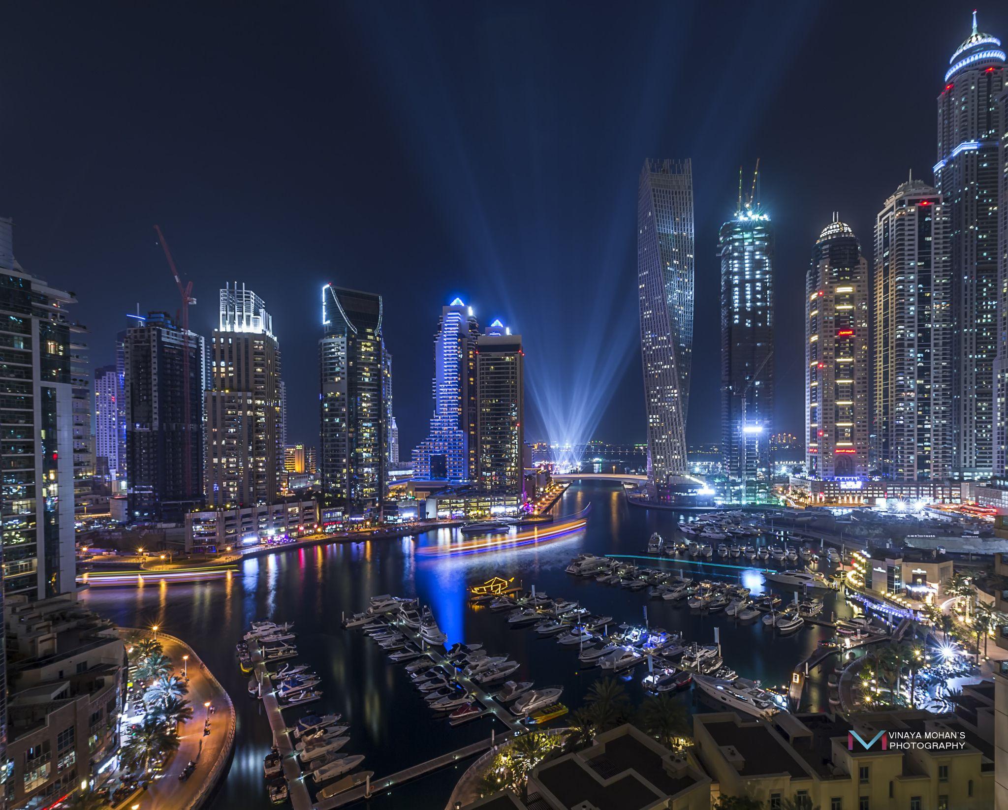 Dubai Marina By Vinaya Mohan On 500px Dengan Gambar Fotografi