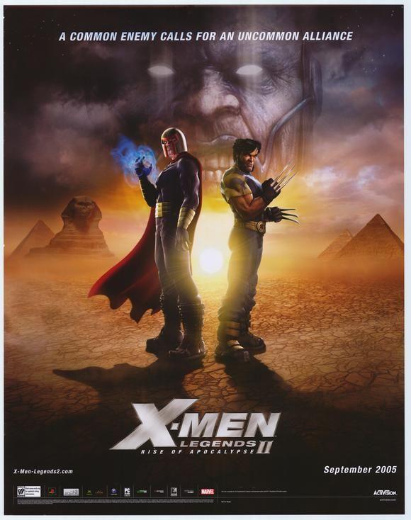 X Men Legends Ii Rise Of The Apocalypse Apocalypse Movies Movie Posters Superhero Movies
