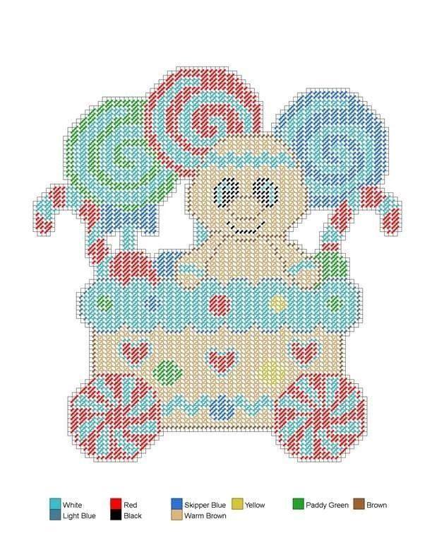 Ginger Express Train 4/4 | plastic canvas | Pinterest | Lona de ...