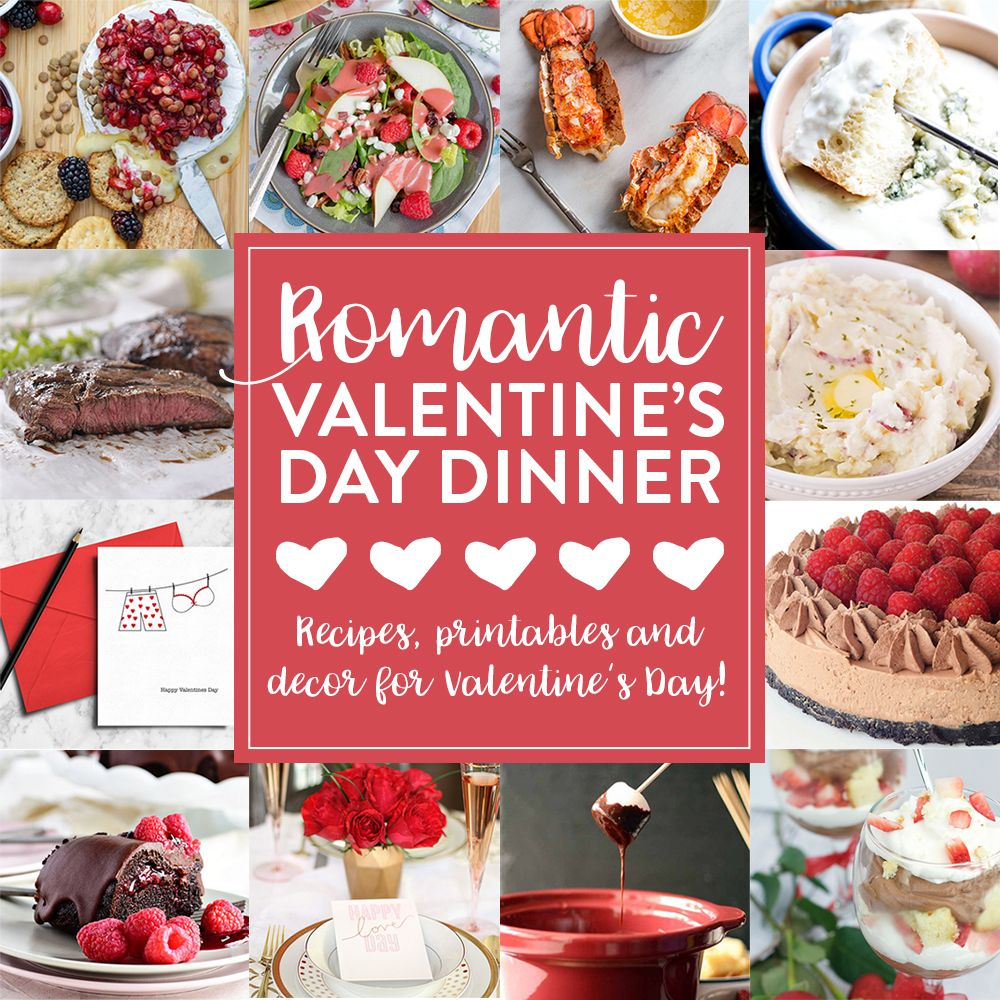 romantic valentines day dinner ideas to which includes everything you need to make valentines day a night to remember