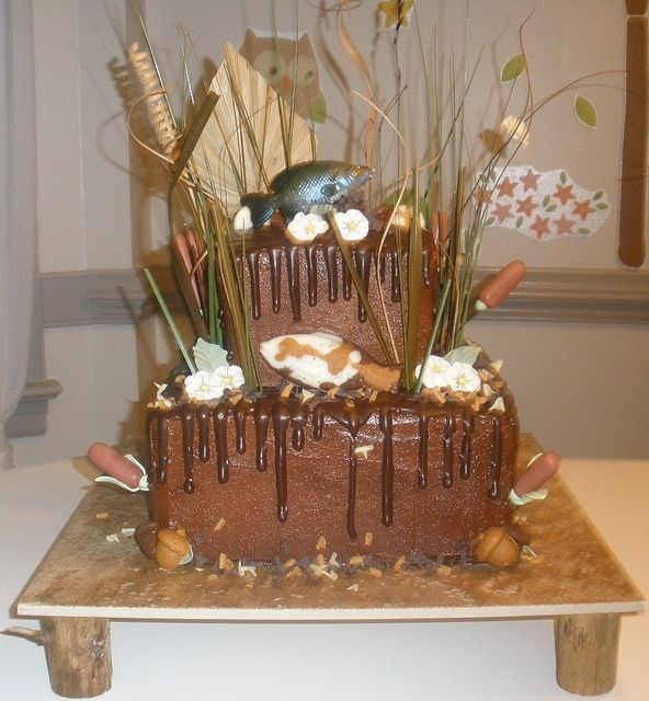 Cake Decor And More Kurse : Fishing Grooms Cake Recent Photos The Commons Getty ...