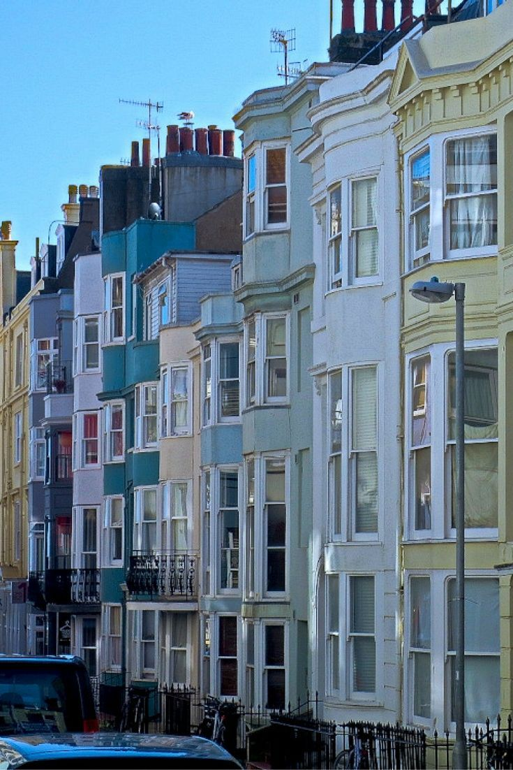 English seaside resort town with amusements on pier, Royal Palace and the Lanes shopping district #brighton #england #travel