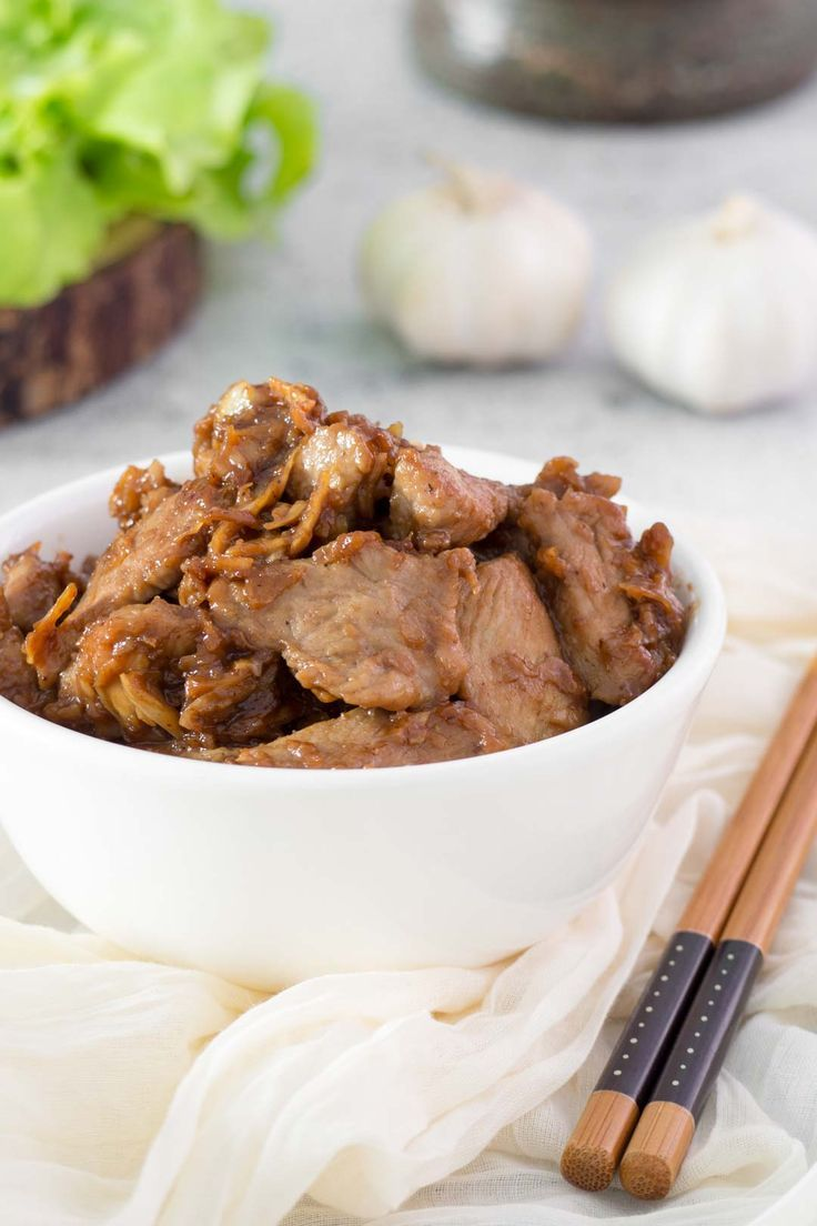 Thai Garlic Pork This Thai garlic pork is delicious and can be whipped up in 15-20 minutes!