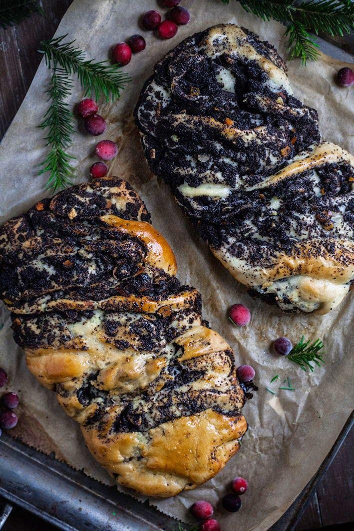 Kuchnia Roslinna Krantz Rubaszny Zawijany Drozdzowy Makowiec Pretty Food Vegan Foods Food