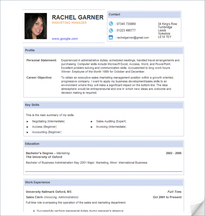 Resume Online Template Cv For Teachers Httpwwwteachersresumesau Our Bundles