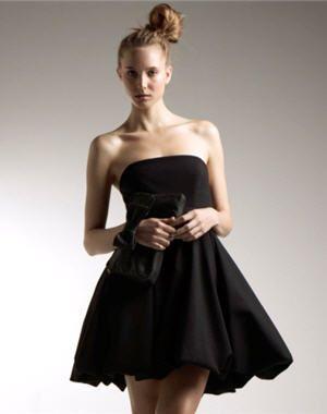 Robe de soiree noire la redoute