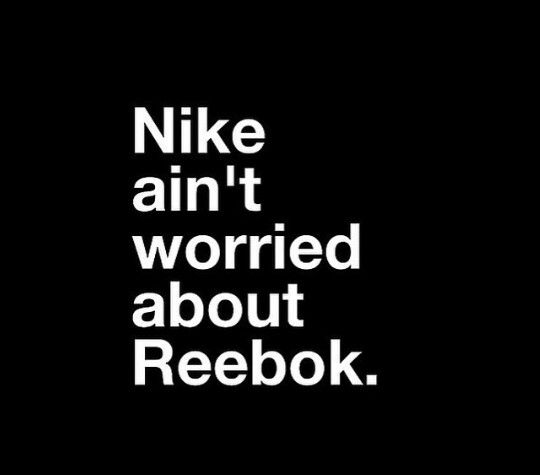 is the reebok or the nike