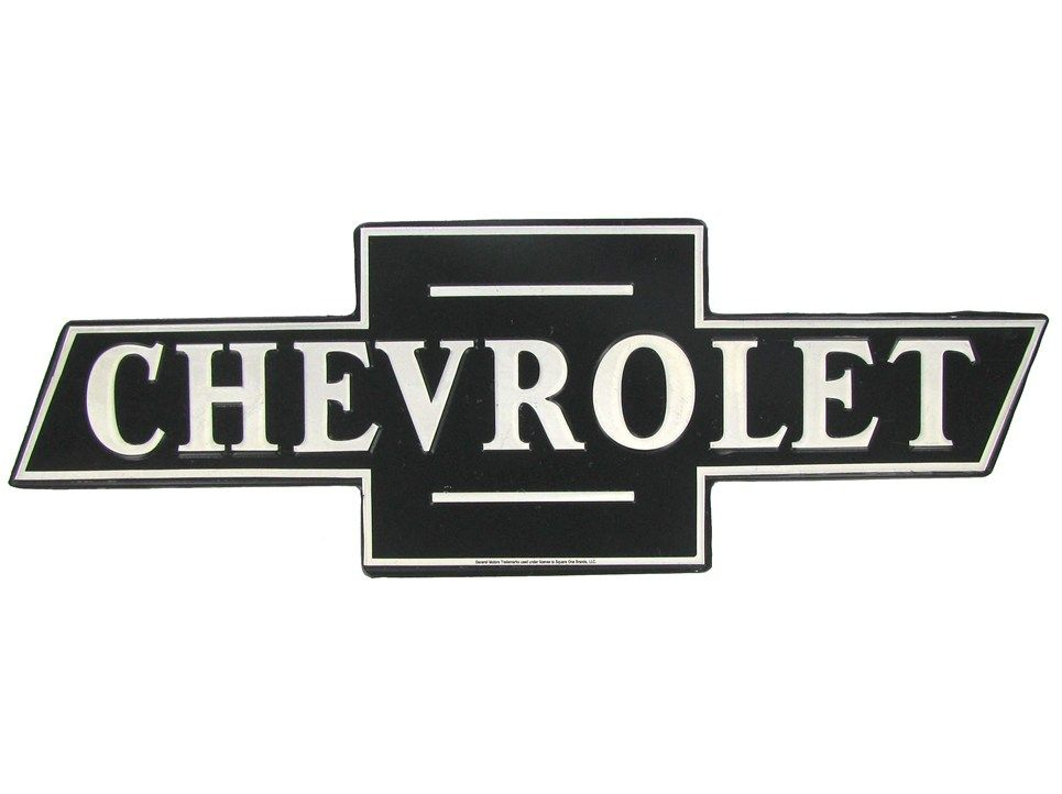 Car Logo Chevrolet Logo Car Logos Vintage Tin Signs