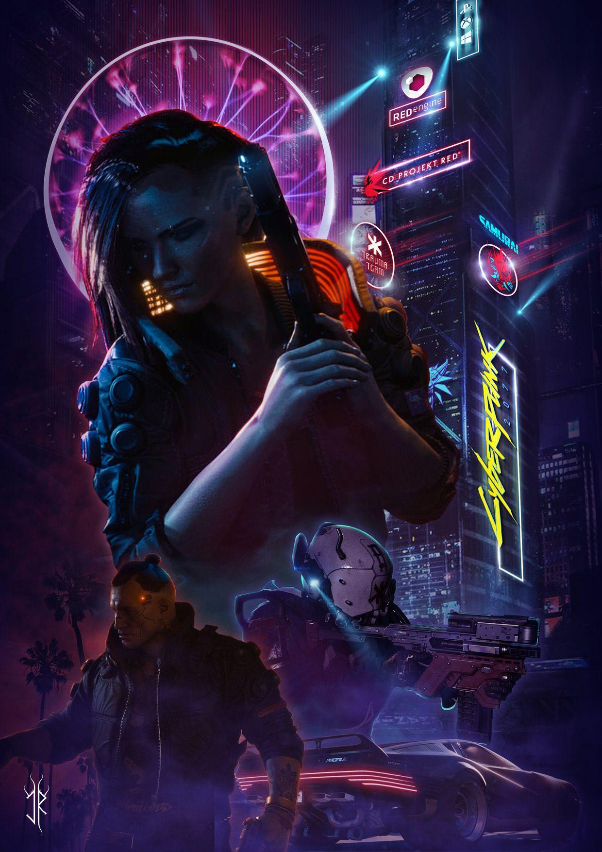 Cyberpunk 2077 Poster Posters Cyberpunk