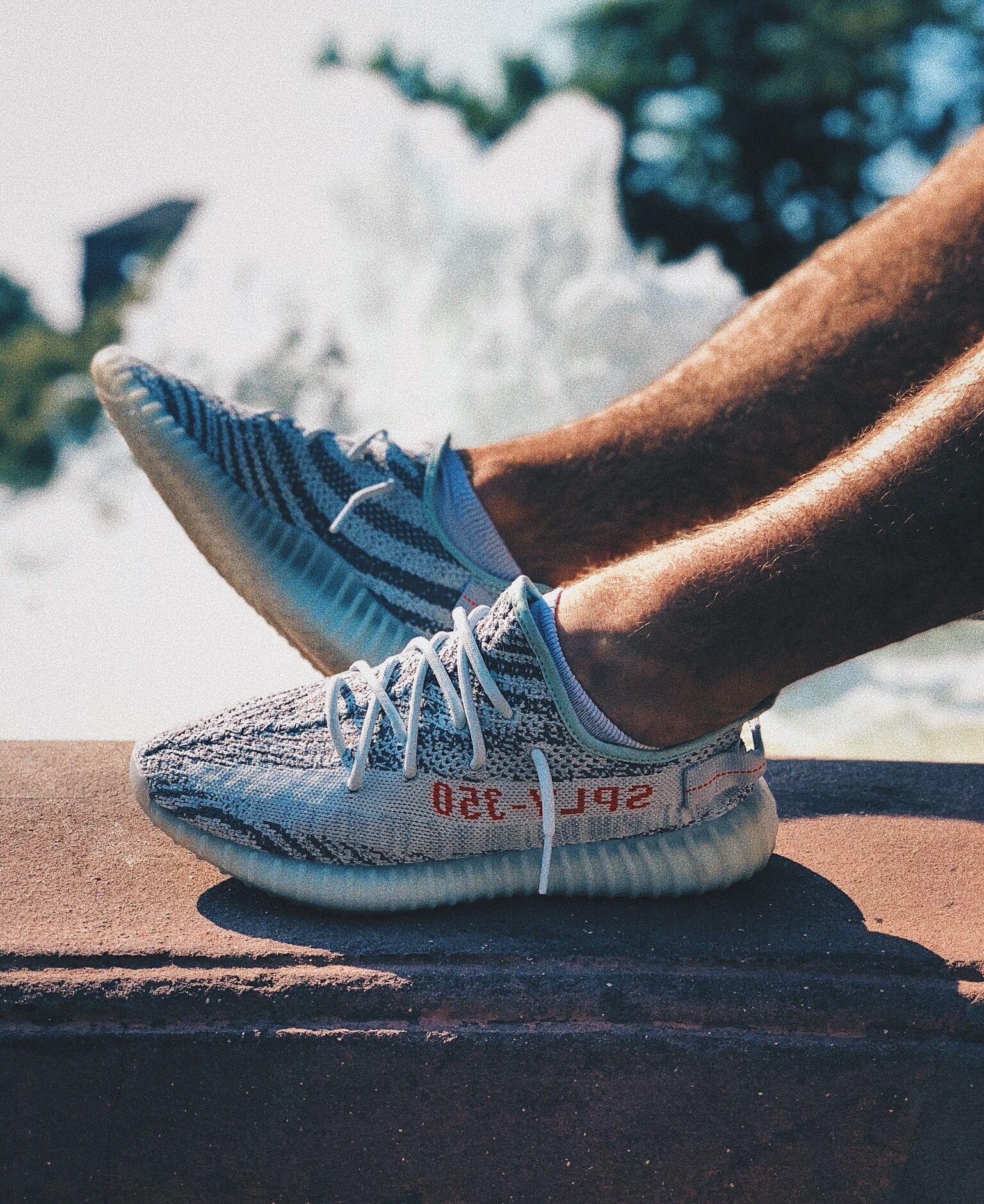 preisgünstig Adidas Yeezy Boost 350 V2 Blau Tint,reasonable