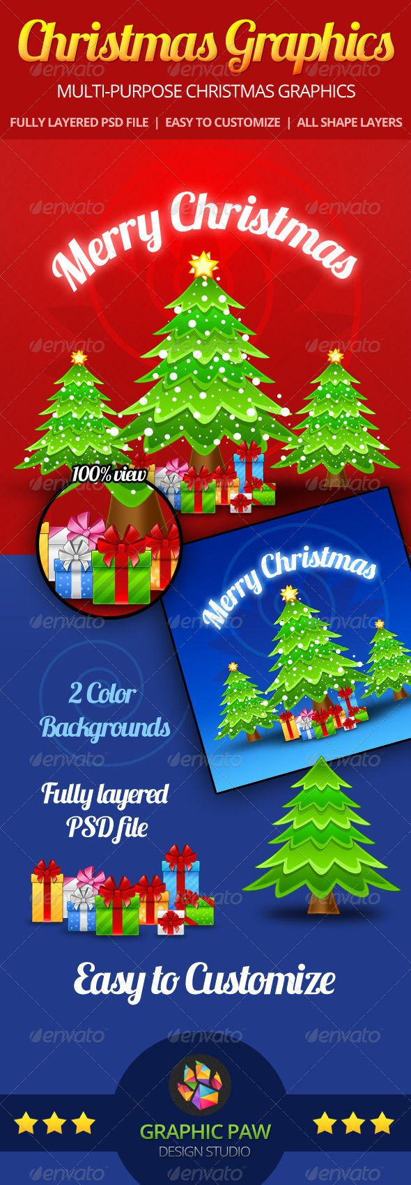 Christmas Gfx Pack Great For Greeting Cards Newsletters Websites