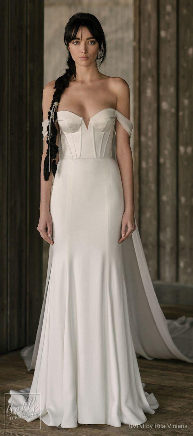 Simple elegant wedding dress designers  Simple Wedding Dresses Inspired by Meghan Markle  outfits