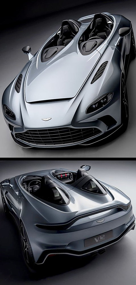Aston Martin V12 Speedster 2021 in 2020 Aston martin