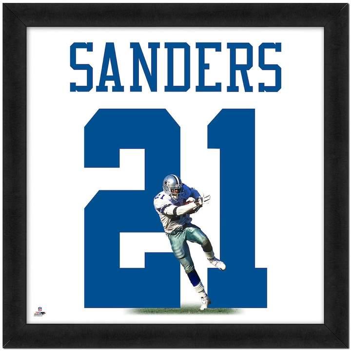 buy popular f2e0c 09857 Deion Sanders Framed Jersey Photo Wall Art | Classic Pro ...