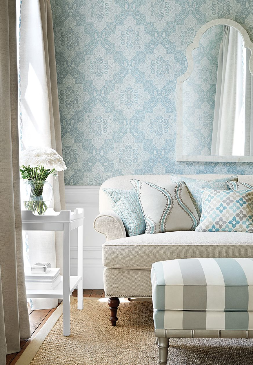 Thibaut Edgartown Side by Oomph - Lookbook | Woven fabric, Settees ...