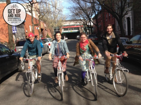 Today we launched our Fundable campaign! Take a look at our new video :)  Get Up and Ride  - Bicycle Tours, Rides and Adventures in NYC & Beyond