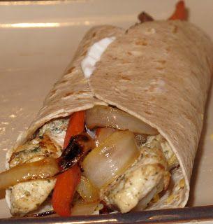 BJ Brinker's Home Cooking: Healthy Chicken Fijitas