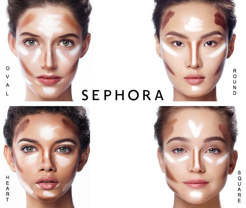 how to apply make up on face