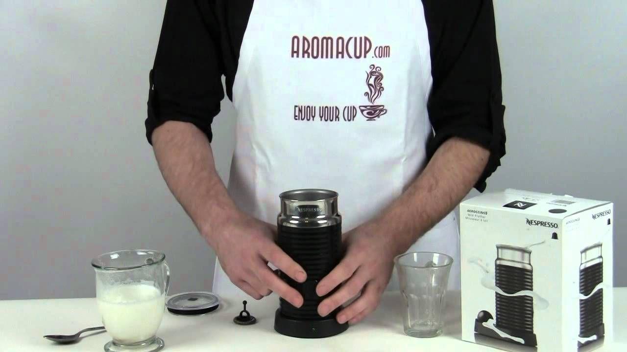 Nespresso Aeroccino 3 Milk Frother Review YouTube Milk