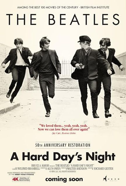LIMA VAGA: A Hard Day's Night será regresa a nuestros cines
