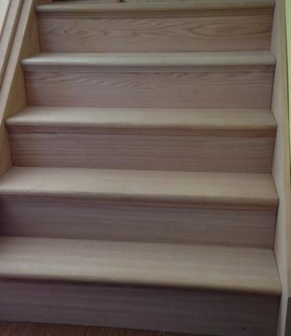 Oak False Stair Tread Cap And Riser Kit, At The Home Depot   Mobile