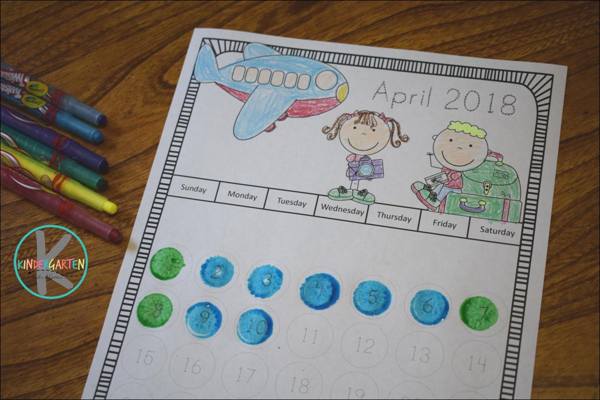 Free Printable Calendar To Color