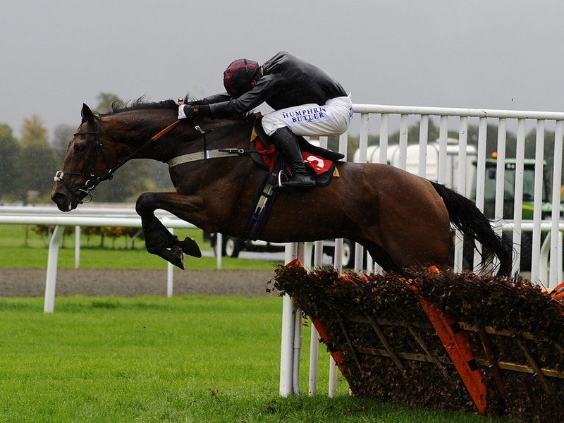 Dennis O'Regan and Sea Lord go on to win the Listed hurdle