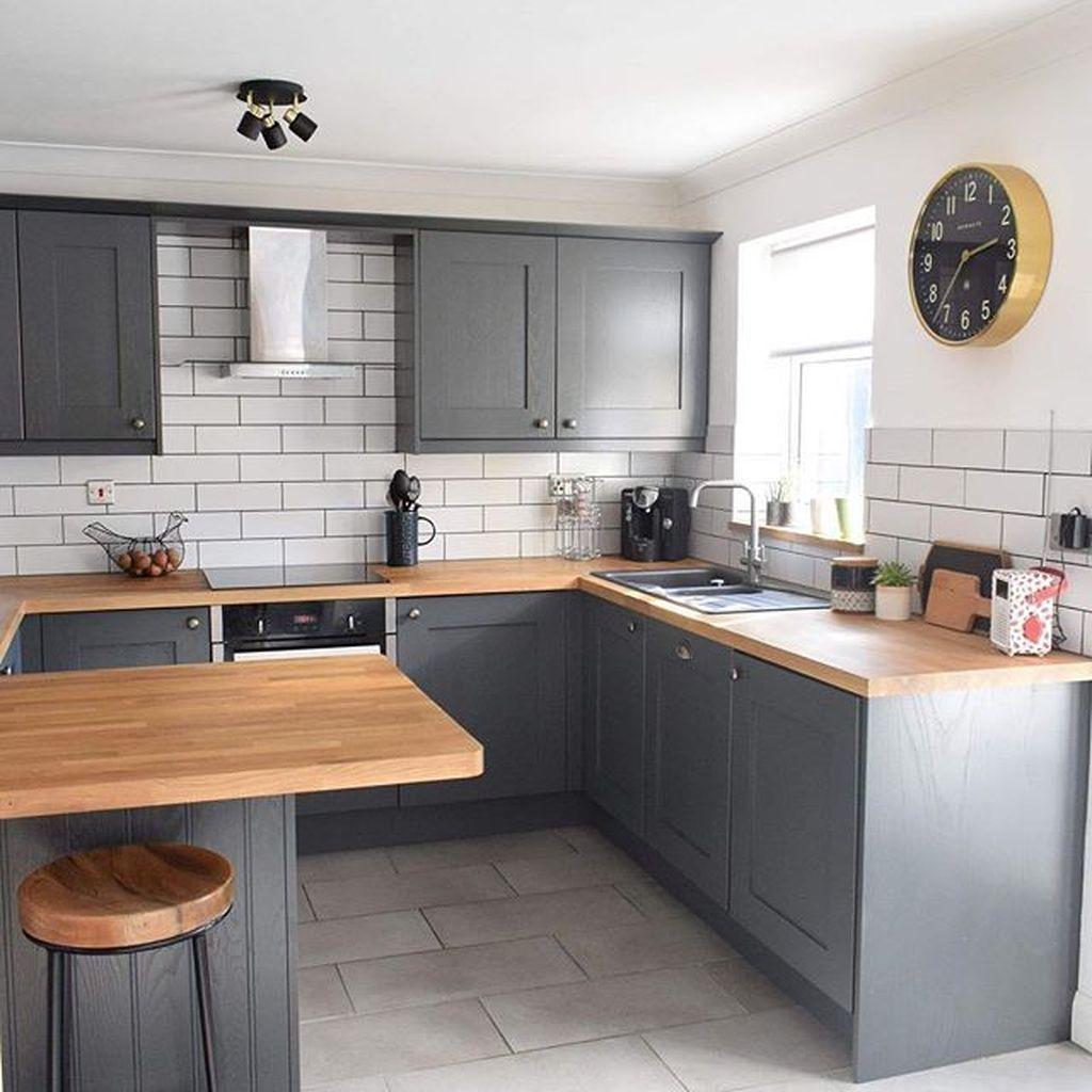 32 The Best Small Kitchen Design Ideas Homyhomee Kitchen Design Small Kitchen Decor Inspiration Small Kitchen Decor