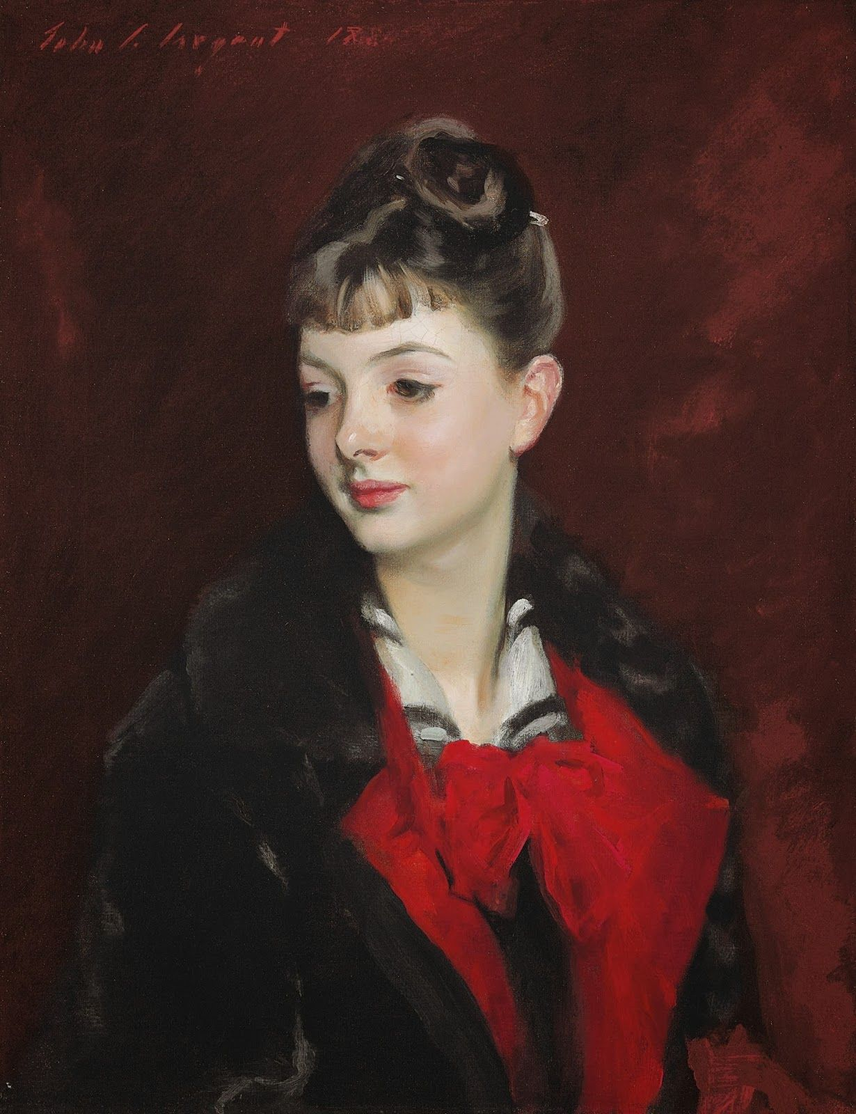 1884+Mademoiselle+Suzanne+Poirson+oil+on+canvas+61.1+x+48.5+cm+Private+Collection.jpg (1230×1600)