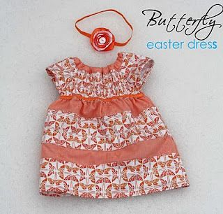 50e632df00 Baby Dress with pattern and tutorial (3-6 months)