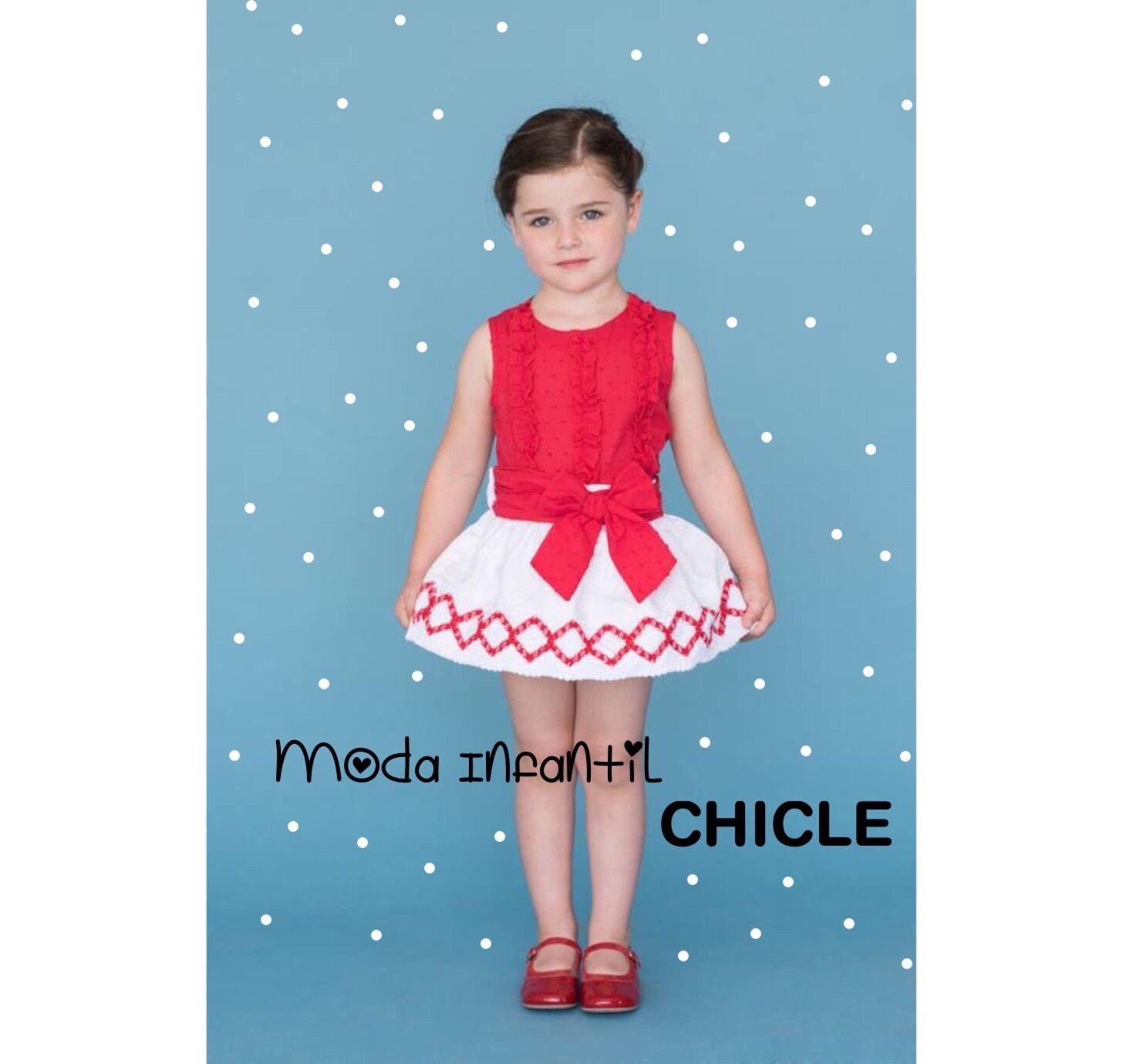 moda infantil chicle