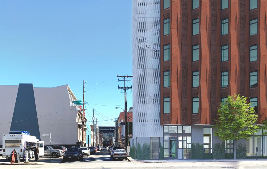 David Baker Architects 833 Bryant Street Supportive Housing Architect Structural Engineering Landscape Architect