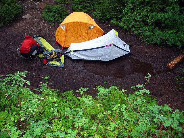 Ex&le of how NOT to set up tent for c&ing in the rain! & Example of how NOT to set up tent for camping in the rain ...